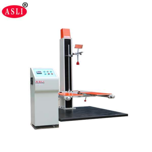 Single Arm Drop Impact Test Machine With Steel Plate