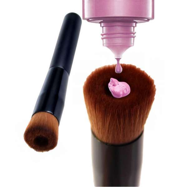 美容工具化妆刷特殊形状液体粉刷