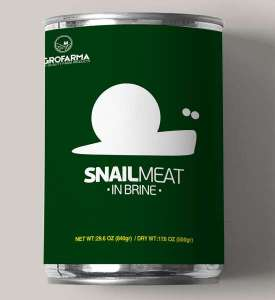 CANNED SNAILS IN BRINE