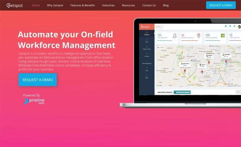 Field Employees Task Management Software Geo Location Mapping Software - Location mapping software