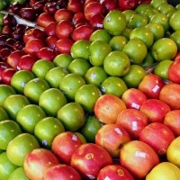 Fresh apples fuji apples