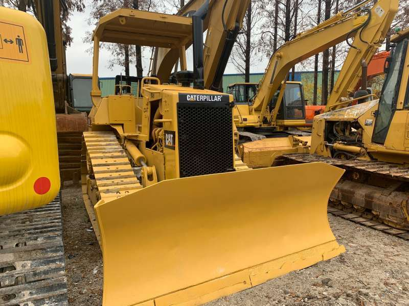 Japan made Used Caterpillar D4H Bulldozer with cheap price and good condition